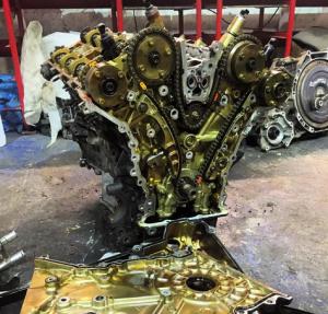 Замена масла в двигателе Вольво